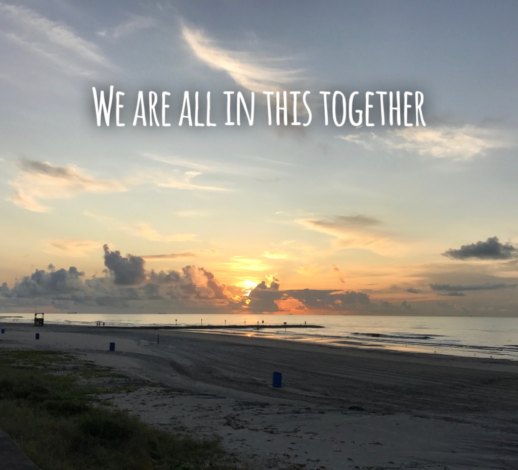 We are all in this together Picture Quote #1